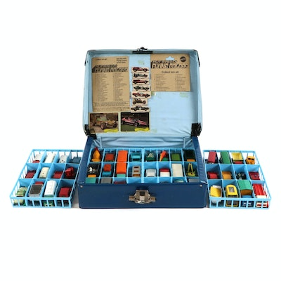 Matchbox Cars with Official Matchbox Series Collector's Case