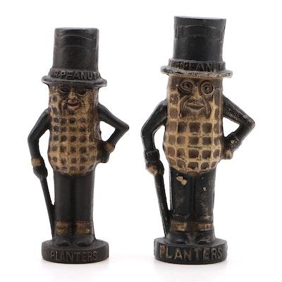 Mr. Peanut Cast Iron Coin Banks