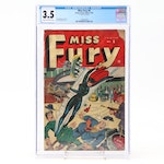 """Miss Fury #6"" Grade 3.5 Comic Book"