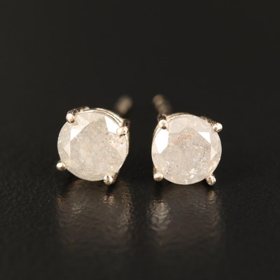 14K 1.51 CTW Diamond Stud Earrings