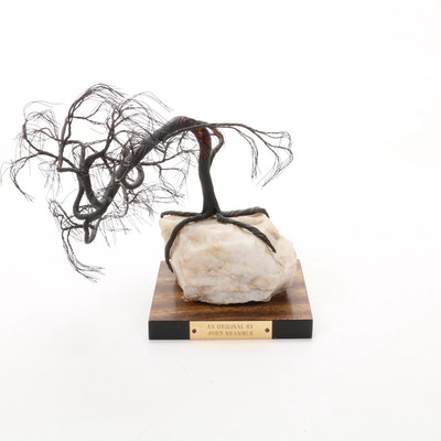John Brammer Sculptural Wire Tree