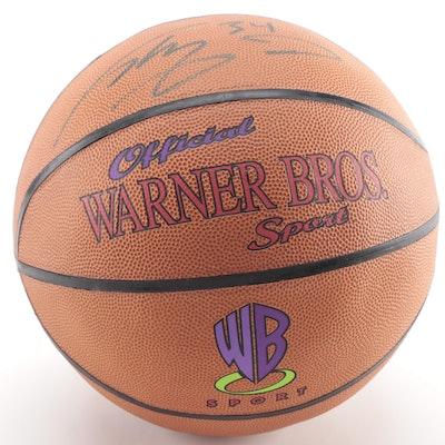 "Shaquille O'Neal Signed ""Warner Bros"" Basketball, Visual COA"