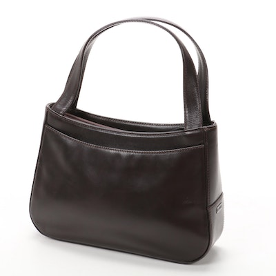 Bally Shoulder Bag in Brown Leather