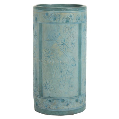 Plaster Umbrella Stand, Early to Mid 20th Century