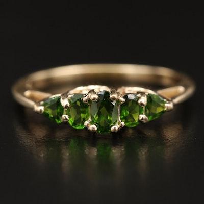 14K Diopside Ring