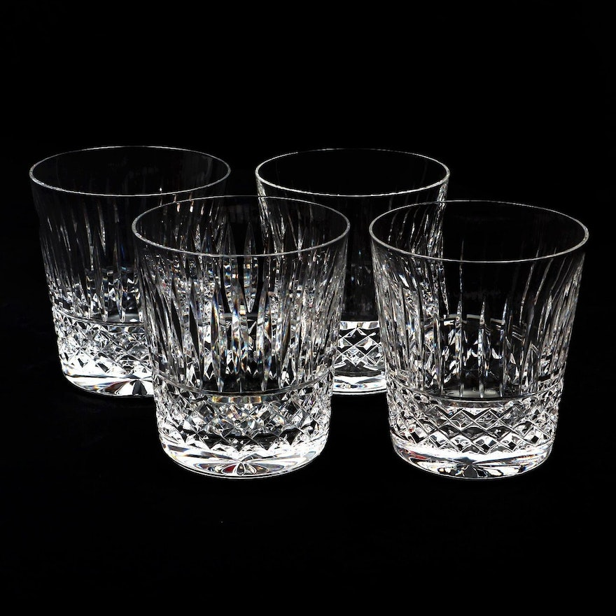 "Waterford Crystal ""Maeve"" Old Fashioned Glasses"