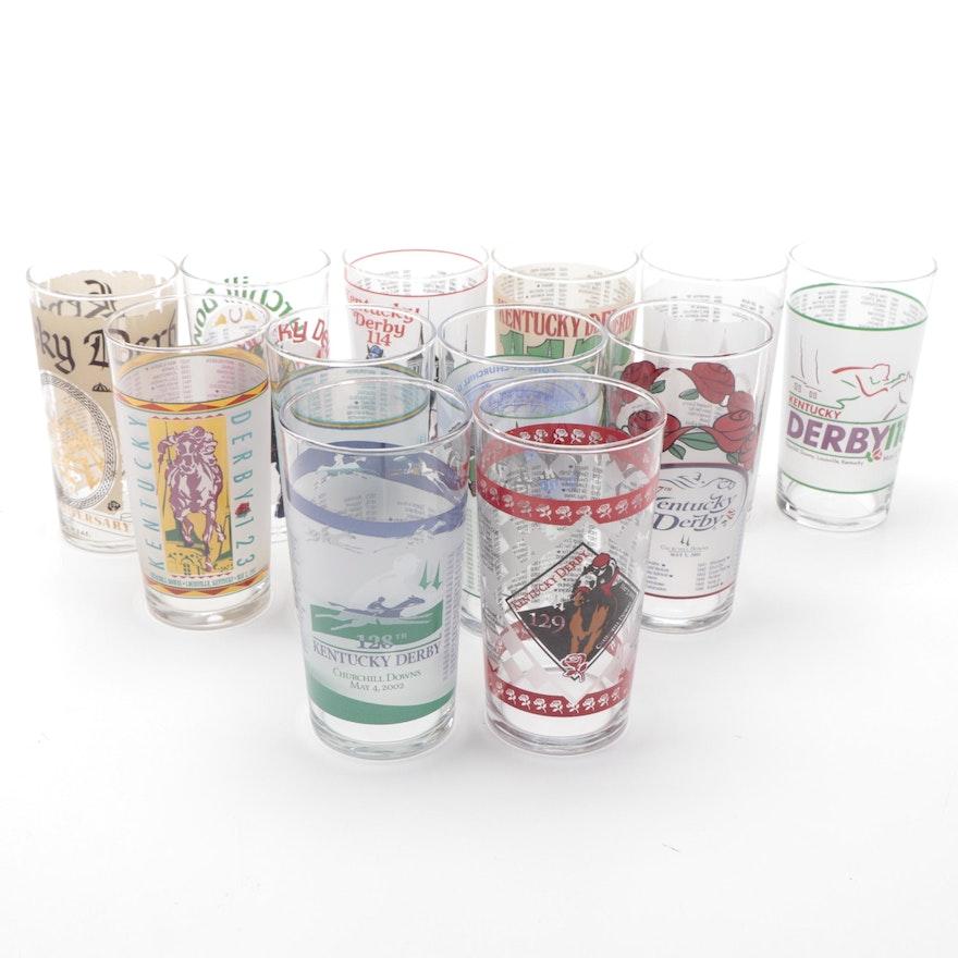 Kentucky Derby Mint Julep Glasses