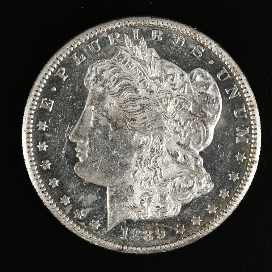 Low Mintage Better Date 1889-S Morgan Silver Dollar