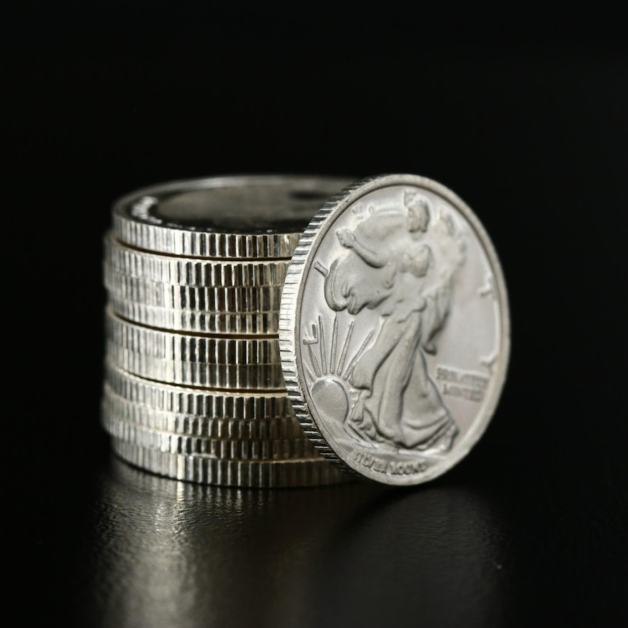 Eleven Money Metals Exchange 1/10 Ounce .999 Silver Rounds