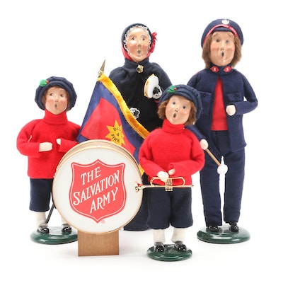 Byers' Choice Ltd. Salvation Army Carolers, Late 20th-Early 21st Century
