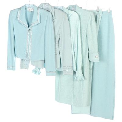 St. John Evening Skirt Suit and St. John Separates