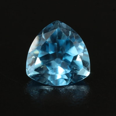 Loose 3.13 CT Triangular Faceted Topaz