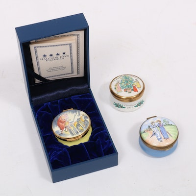 Halcyon Days and Other Hinged Enamel Boxes
