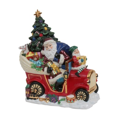 Christopher Radko Christmas-Themed Figural Cookie Jar