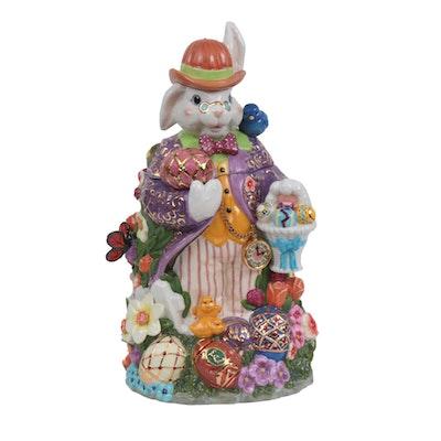 Christopher Radko Easter-Themed Figural Cookie Jar