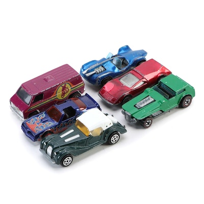 Diecast Toy Cars, Includes Hot Wheels Redliners