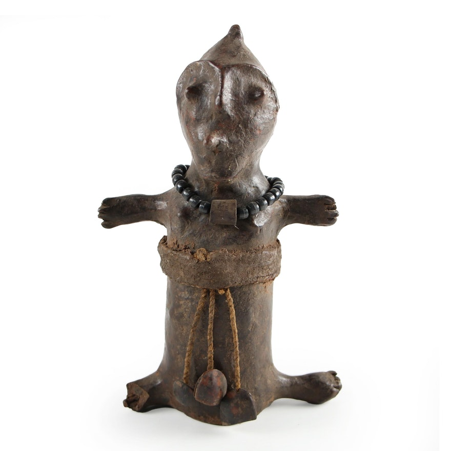 Mbuti Style Wooden Fertility Doll, Democratic Republic of the Congo