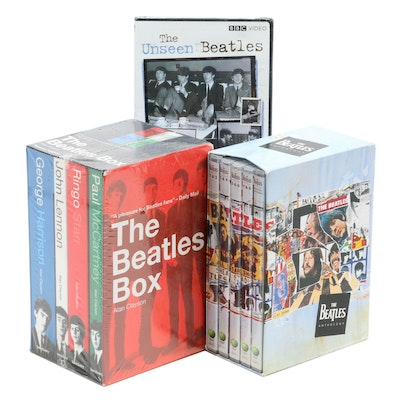 """DVD Sets of """"The Beatles Anthology"""", """"The Beatles Box"""", """"The Unseen Beatles"""""""