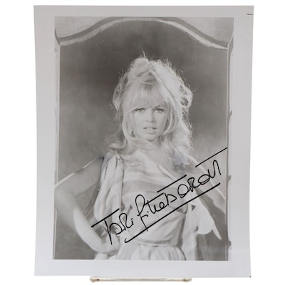 Brigitte Bardot Signed Photo Print, Visual COA