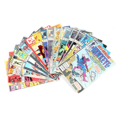 """""""Hawkeye"""", """"The Thing"""", """"Strange Tales"""", and Other Marvel Comics"""