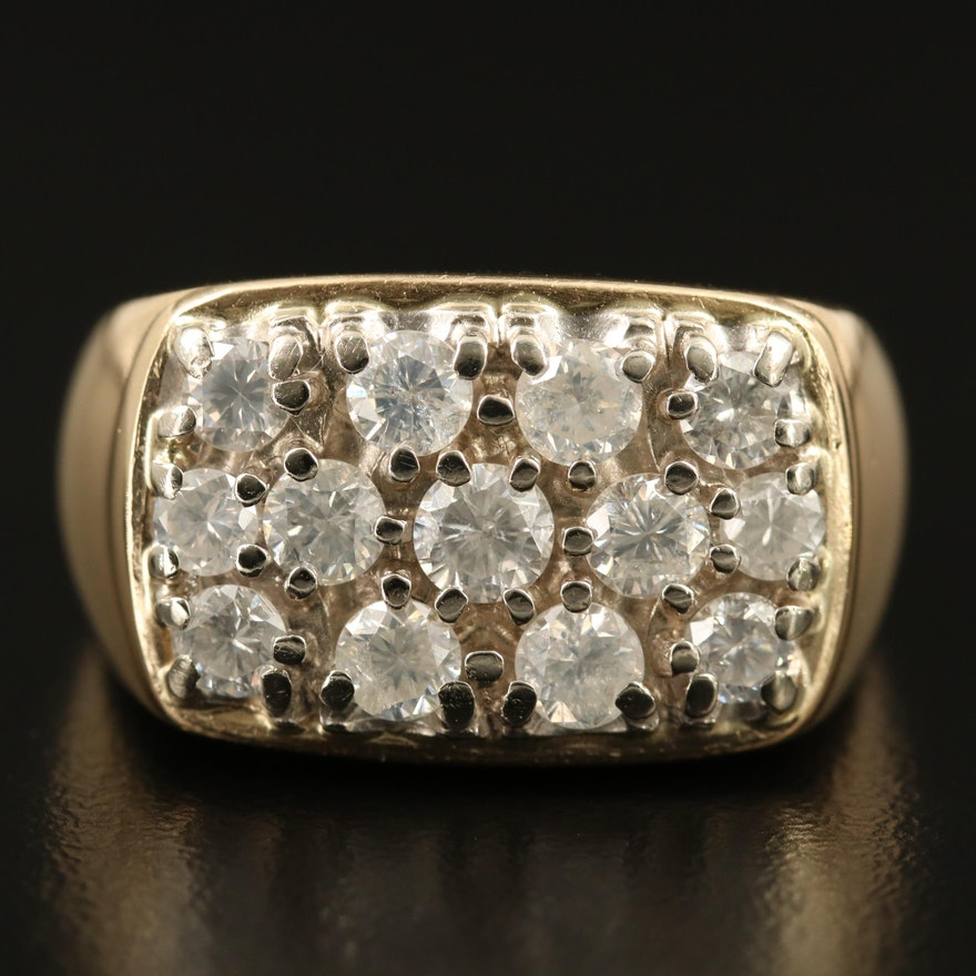 14K 2.00 CTW Diamond Ring