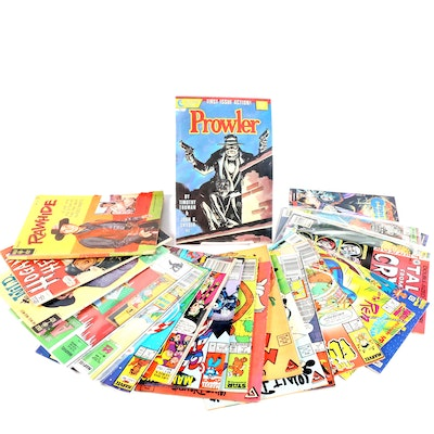 """""""ALF,"""" Marvel Classics Comics, """"Tales From the Crypt,"""" and Other Comics"""