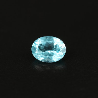 Loose 2.03 CT Oval Faceted Apatite