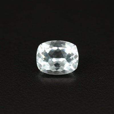 Loose 3.33 CT Rectangular Cushion Aquamarine