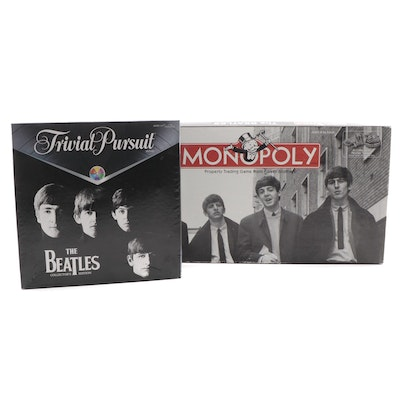 "Trivial Pursuit ""The Beatles Collector's Edition"" and Monopoly ""The Beatles"""