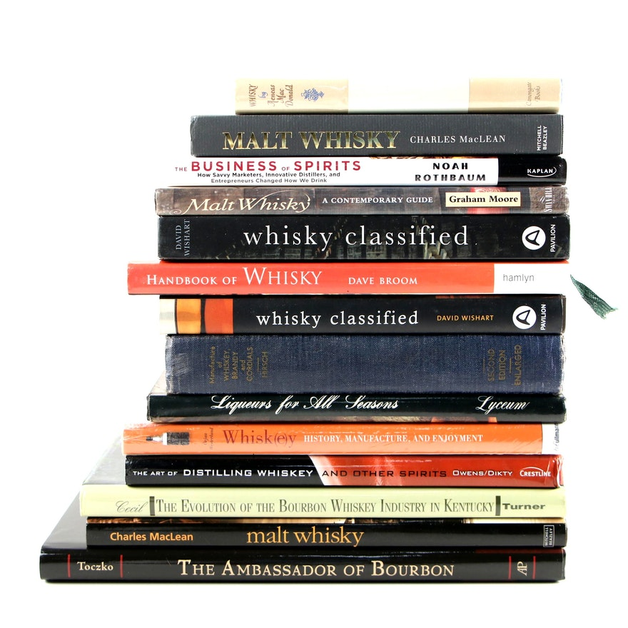 """""""The Evolution of the Bourbon Whiskey Industry in Kentucky"""" and Other Books"""