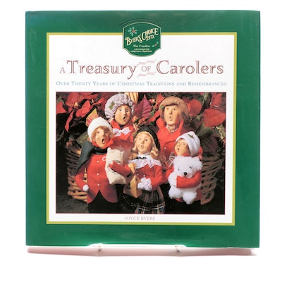 "First Edition ""A Treasury of Carolers"" by Joyce Byers, 1998"