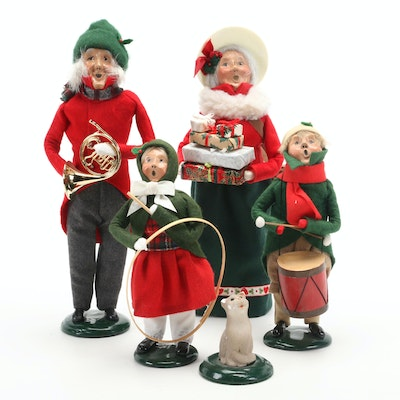 Byers' Choice Holiday Carolers including Talbots Exclusive, Late 20th Century