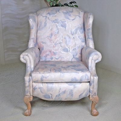 Bradington-Young Wingback Recliner, Late 20th Century