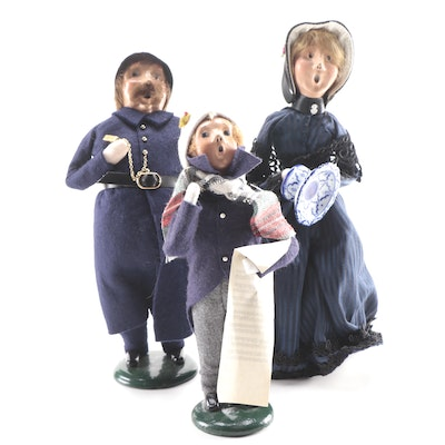 Byers' Choice The Carolers Holiday Figurines, Late 20th-Early 21st C