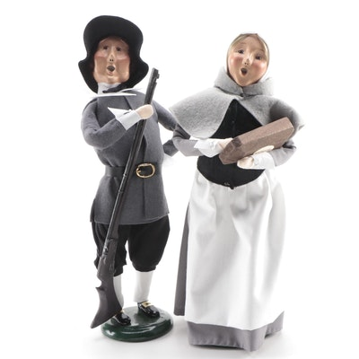 Byers' Choice Ltd. Pilgrim  Carolers, 21st Century