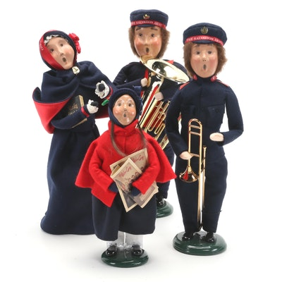 Byers' Choice Ltd. Salvation Army Carolers Figurines