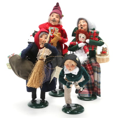 "Byers' Choice Ltd. ""Fritz"" and ""Old Befana"" and Other Carolers"