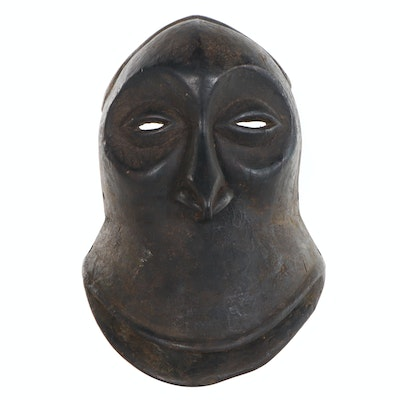 "Hemba ""Mwisi Gwa So'o"" Wooden Mask, Democratic Republic of the Congo"