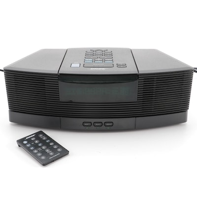 Bose Wave Radio/CD Player with Pedestal, and Remote