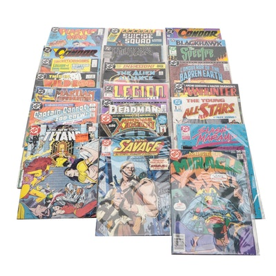 """""""Suicide Squad"""", """"Hellblazer"""", """"The Spectre"""", and other DC Comics"""