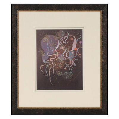 """Offset Lithograph after Wassily Kandinsky """"The Perimeters of Heaven"""""""