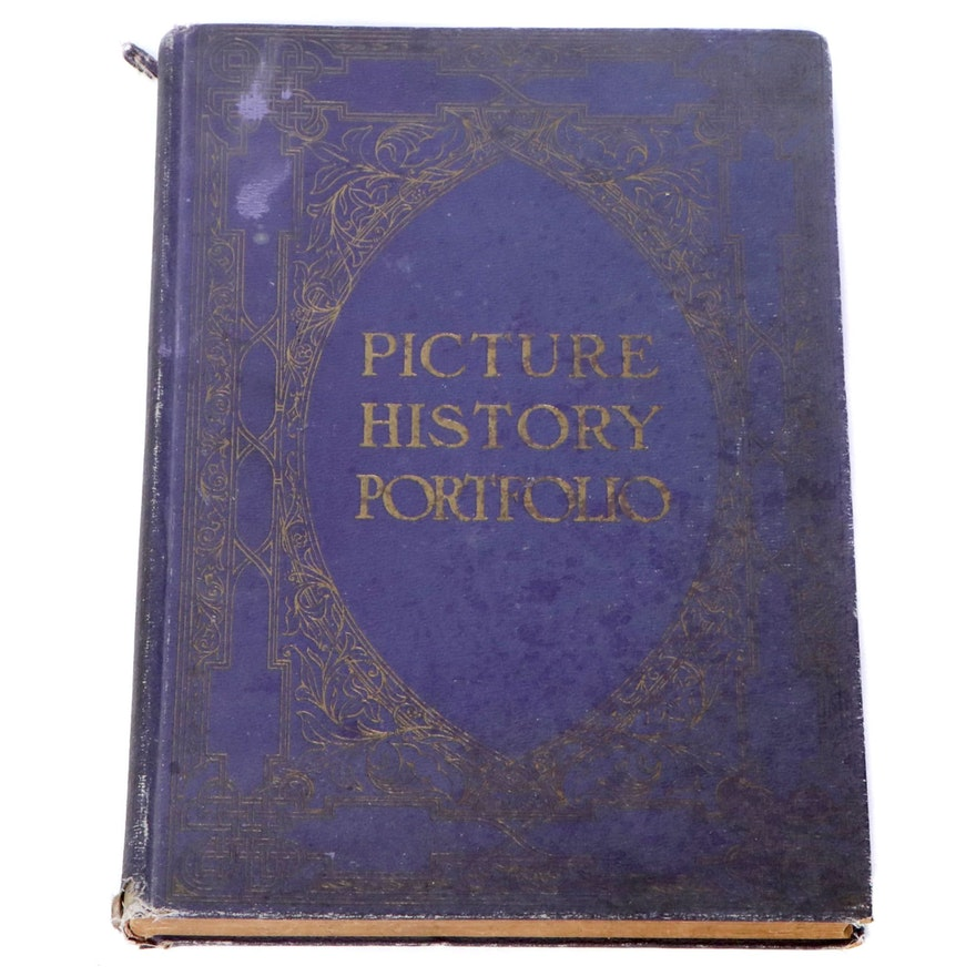 """""""Picture History Portfolio"""" from the """"New York Times"""" Edited by Otto Kurth, 1923"""