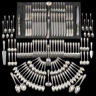 "International Silver Co. ""Fontaine"" Sterling Silver Flatware with Chest"