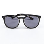 ETRO ET641S Black Horn Rimmed Sunglasses with Case