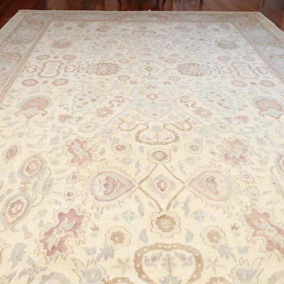 12' x 18' 4 Hand-Knotted Persian Wool Area Rug