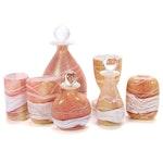 Gozo Art Glass Bottles, Decanters and Vases