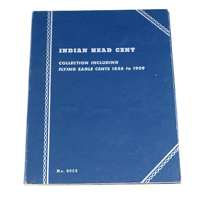 Flying Eagle and Indian Head Cents in Whitman Binder