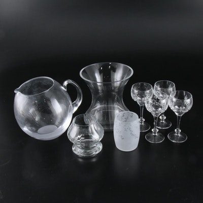 Crystal and Glass Stemware and Table Accessories
