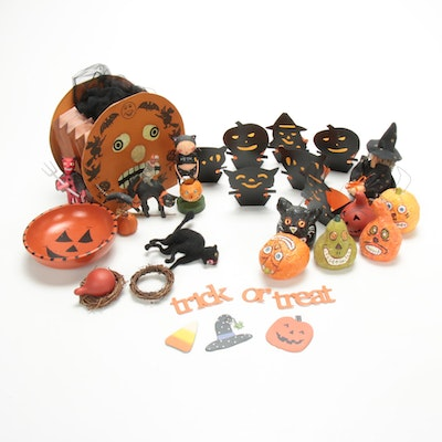 Bethany Lowe Figurines and Other Halloween Decorations