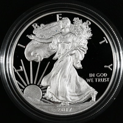 2017-W American Silver Eagle $1 Proof Bullion Coin